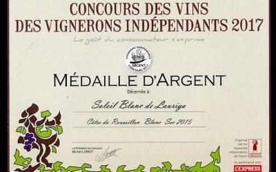 Le concours des vins des vignerons indépendants nous prime à nouveau