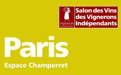 Invitation Salon des Vignerons Indépendants Porte Champerret