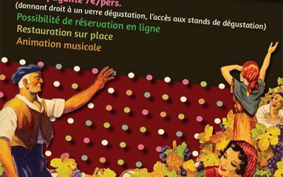 Les Vignerons des Aspres célèbrent les vendanges à Thuir
